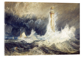 Acrylic glass  Bell Rock Lighthouse - Joseph Mallord William Turner