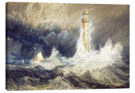Canvas print  Bell Rock Lighthouse - Joseph Mallord William Turner