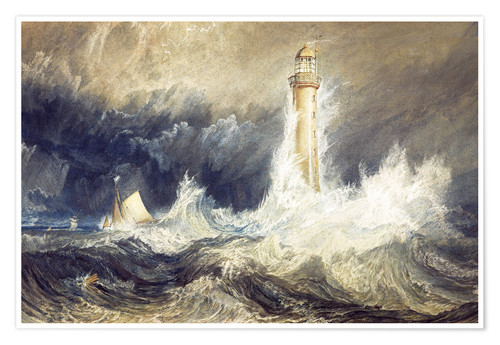 Premium poster Bell Rock Lighthouse