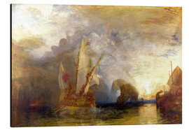 Alu-Dibond  Ulysses ridicules Polyphemus - Joseph Mallord William Turner