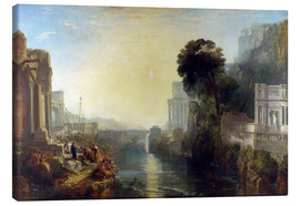 Canvas print  Dido Building Carthage - Joseph Mallord William Turner