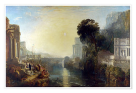 Premium poster  dido building carthage - Joseph Mallord William Turner