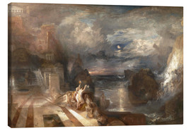 Canvas print  The Parting of Hero and Leander - Joseph Mallord William Turner