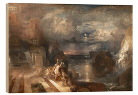 Wood  The Parting of Hero and Leander - Joseph Mallord William Turner