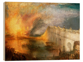 Wood  The Burning of the Houses of Lords and Commons - Joseph Mallord William Turner