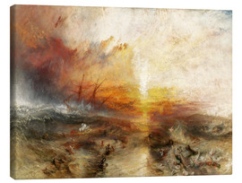 Canvas print  The slave ship - Joseph Mallord William Turner