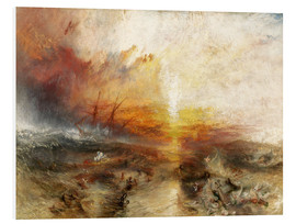 Foam board print  The slave ship - Joseph Mallord William Turner