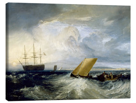 Canvas print  Sheerness as seen from the Nore - Joseph Mallord William Turner