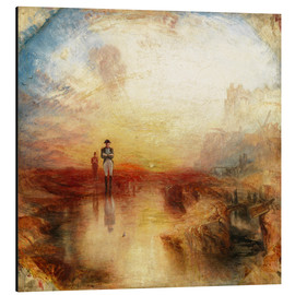 Alu-Dibond  War, the Exile and the Rock Limpet - Joseph Mallord William Turner