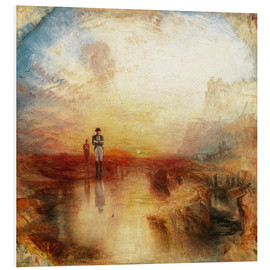 Foam board print  War, the Exile and the Rock Limpet - Joseph Mallord William Turner