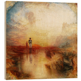 Wood print  War, the Exile and the Rock Limpet - Joseph Mallord William Turner