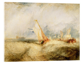 Acrylic print  Van Tromp, Going About to Please His Masters - Joseph Mallord William Turner