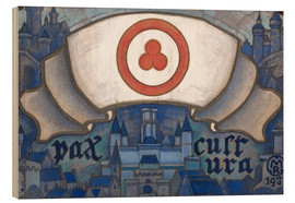 Wood  Banner of peace - Nicholas Roerich
