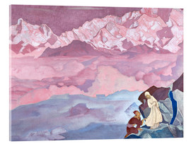 Acrylic print  The leader - Nicholas Roerich