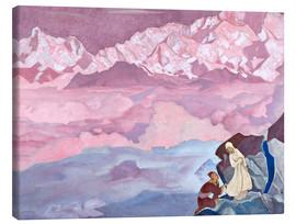 Canvas print  The leader - Nicholas Roerich