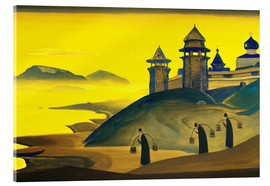 Acrylic print  And We are Trying - Nicholas Roerich