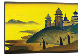 Aluminium print  And We are Trying - Nicholas Roerich