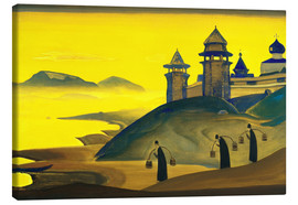 Canvas print  And We are Trying - Nicholas Roerich