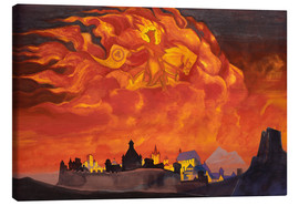 Canvas  Sophia, the Wisdom of the Almighty - Nicholas Roerich