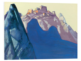 Nicholas Roerich - Fort Atop Mountain