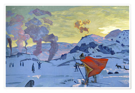 Nicholas Roerich - The signal fires of peace