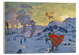 Wood  The signal fires of peace - Nicholas Roerich