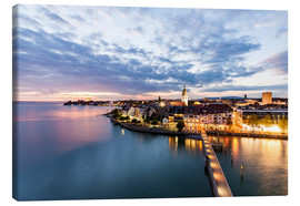 Canvas print  Friedrichshafen on Lake Constance - Dieterich Fotografie