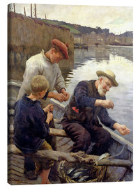 Canvas print  Newlyn - Stanhope Alexander Forbes