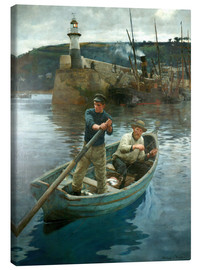 Canvas  The Lighthouse - Stanhope Alexander Forbes