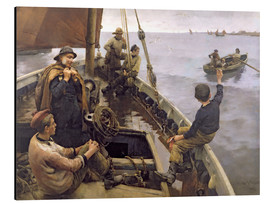 Aluminium print  Off to the Fishing Ground - Stanhope Alexander Forbes