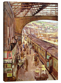Canvas print  Penzance, Railway Station - Stanhope Alexander Forbes