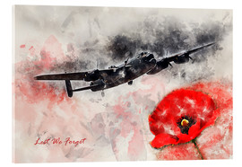 Acrylic print  Lest We Forget - airpowerart