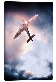 Canvas print  Spitfire, One of The Few - airpowerart
