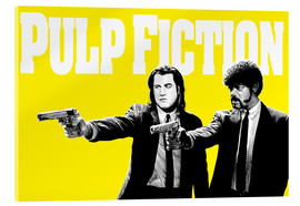 Acrylic glass  Pulp Fiction Yellow BANG - Paola Morpheus