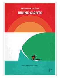 Premium poster Riding Giants