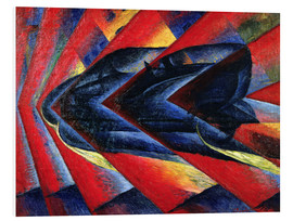 Forex  The Dynamism of an Automobile - Luigi Russolo