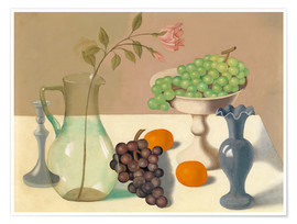 Premium poster Still life with grapes