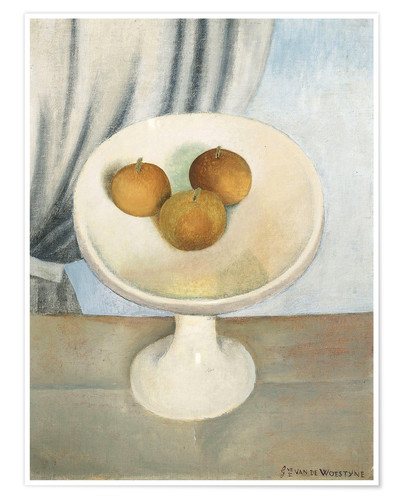 Premium poster Still Life with fruit bowl