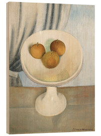 Wood  Still Life with fruit bowl - Gustave van de Woestyne
