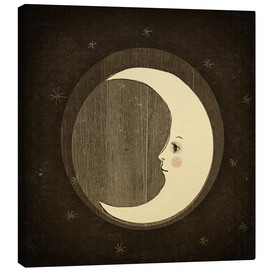 Canvas print  Moon in the night - Little Miss Arty