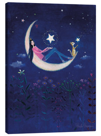 Canvas print  Moon princess - Mila Marquis