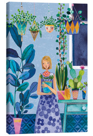 Canvas print  Urban Jungle Girl - Mila Marquis