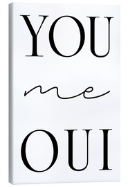 Canvas print  you me oui - Ohkimiko