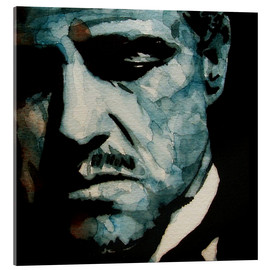 Acrylic print  The Godfather, Marlon Brando - Paul Lovering Arts