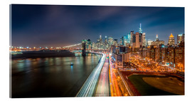 Sascha Kilmer - New York Panorama Night Skyline