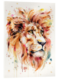 Acrylic glass  All Things Majestic (Lion) - Sillier Than Sally