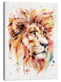 Canvas  All Things Majestic (Lion) - Sillier Than Sally