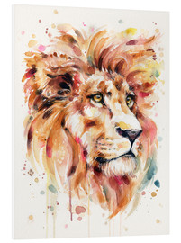 Foam board print  All Things Majestic (Lion) - Sillier Than Sally