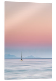 Acrylic print  Sailboat on the sea - Filtergrafia