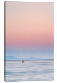Canvas print  Sailboat on the sea - Filtergrafia
